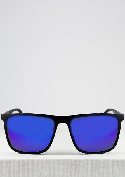 Bonn gafa de sol polarizada negro espejo azul