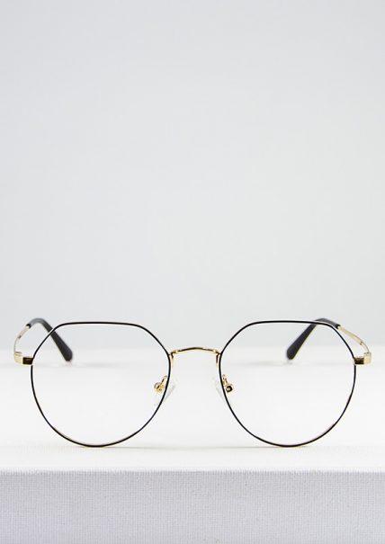 Harper gafa graduada negro dorado