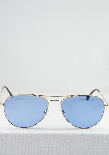 Gafas de Sol Minsk Dorado Azul Cobalto