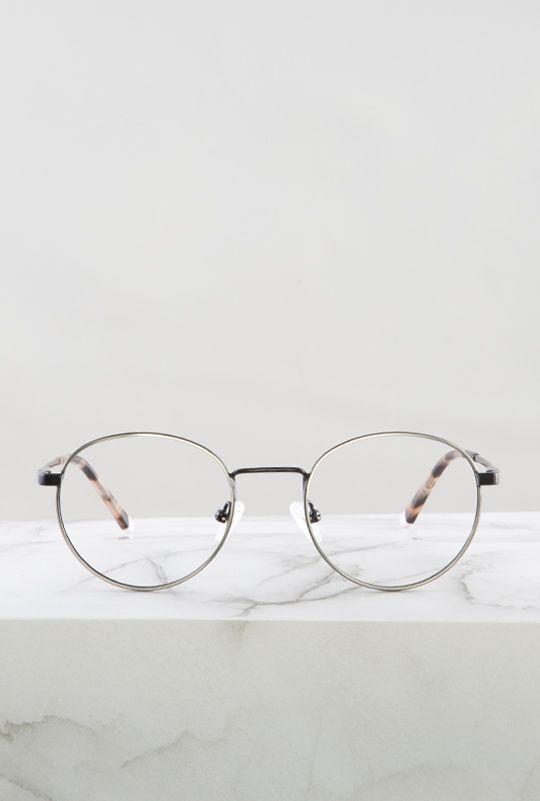 Denis gafa negro plata principal