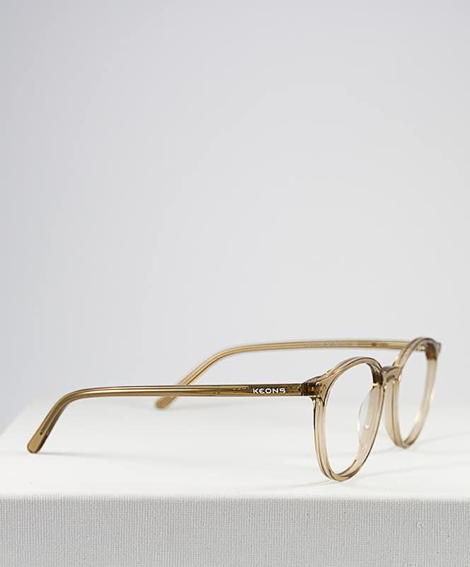 Calais gafa graduada fotocromática de pasta redonda frente