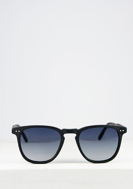 Gante gafa de sol progresiva de pasta negra