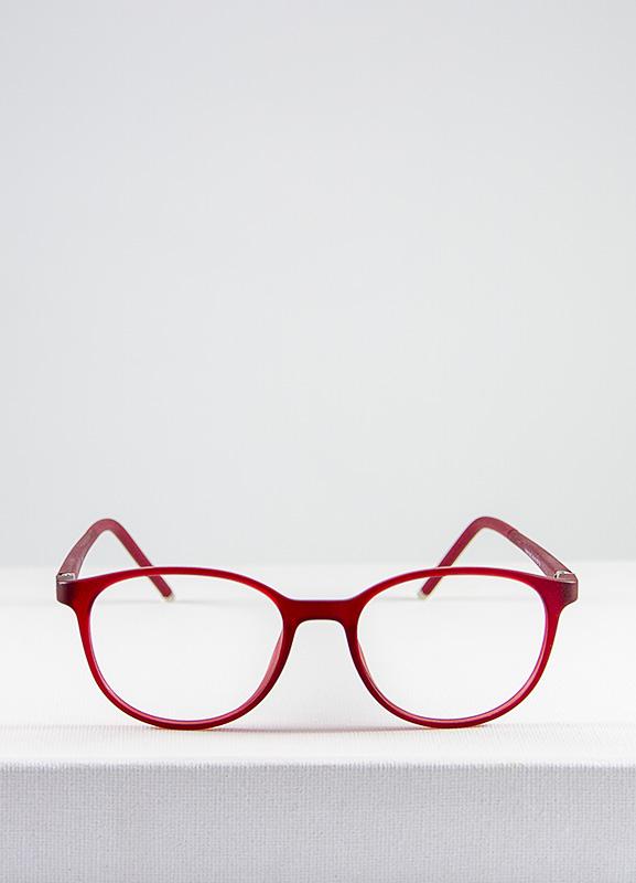Bunny gafa graduada infantil rojo