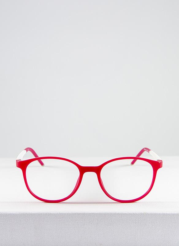 Bunny gafa infantil graduado rosa y blanco