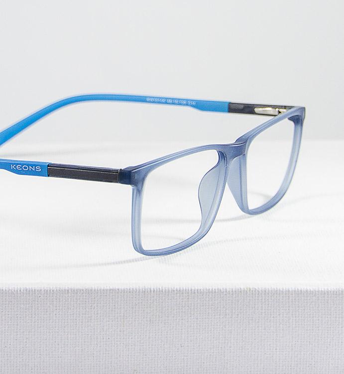 Doo gafa infantil graduada azul detalle lateral