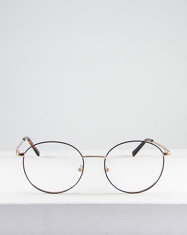 Mika gafa dorado marron frente