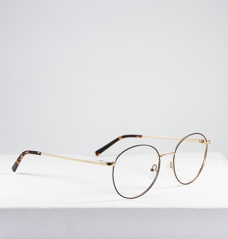 Mika gafa dorado marron lateral
