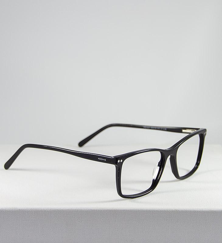 Gafas modelo Dalton negro clip on