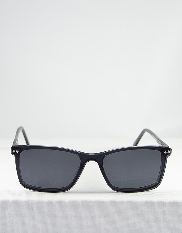 Gafas modelo Dalton gris clip on
