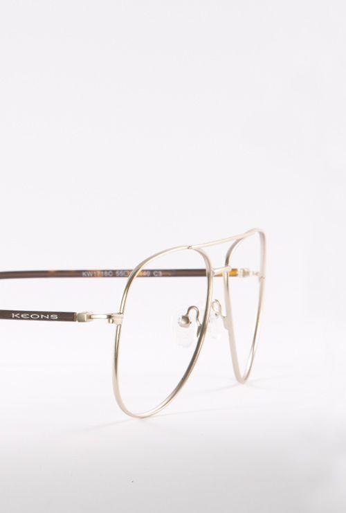 Albert gafa graduada dorado lateral medio