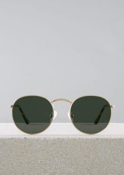 Amber gafa sol dorado principal