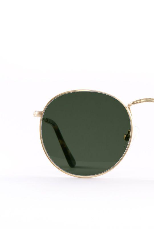 Amber gafa sol progresiva dorado frontal
