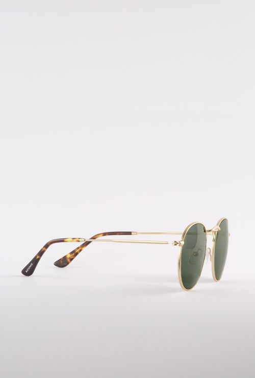Amber gafa sol progresiva dorado lateral entero