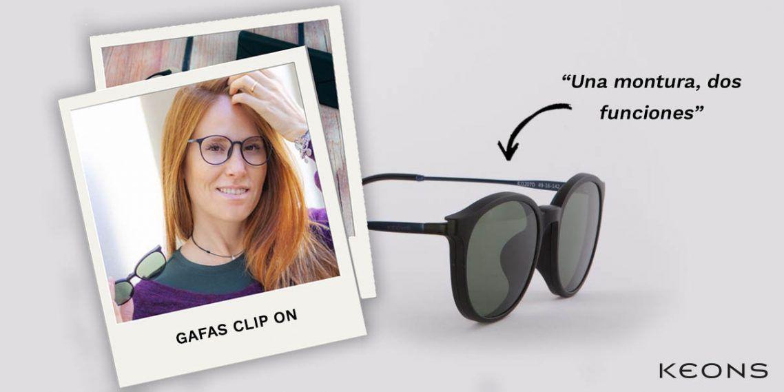e1bd6ccf6a Unas gafas para cada momento del día, porque si eres de los que prefiere  llevar una única montura y olvidarte de tener que llevar siempre contigo  tus gafas ...
