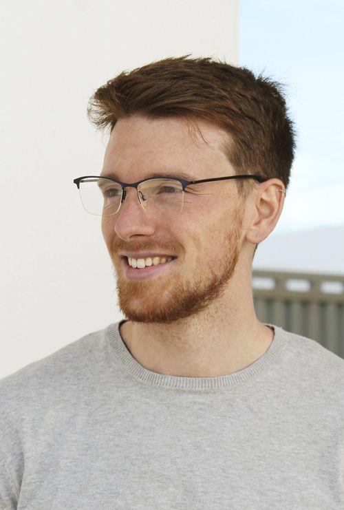 Chris gafa progresiva azul chico