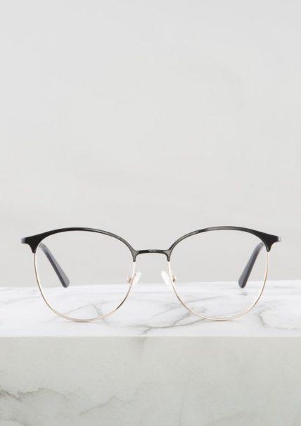 Dalas gafa graduada negro dorado principal