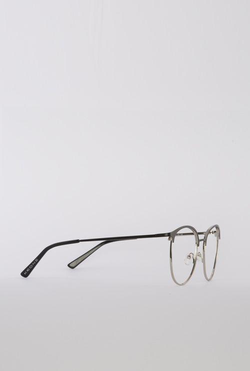 Dalas gafa graduada negro plata lateral entero