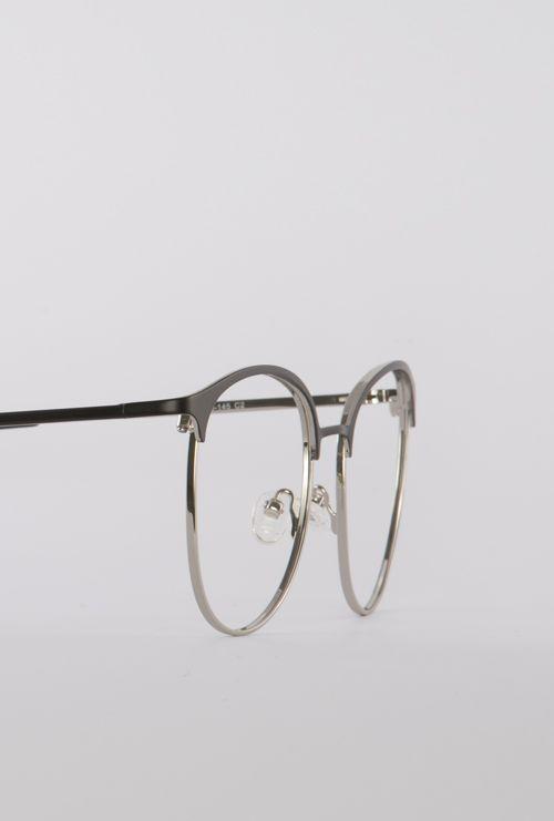 Dalas gafa graduada negro plata lateral medio
