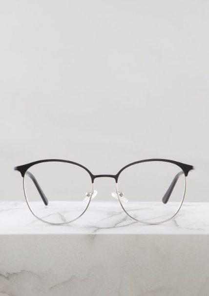 Dalas gafa graduada negro plata principal