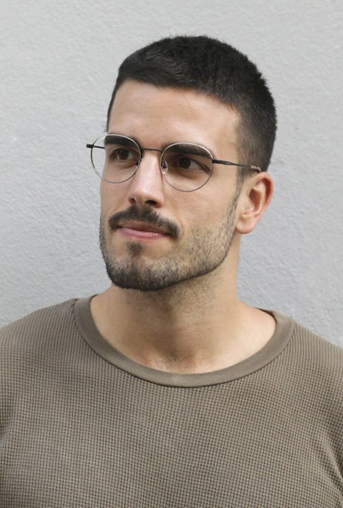 Denis gafa graduada negro plata chico