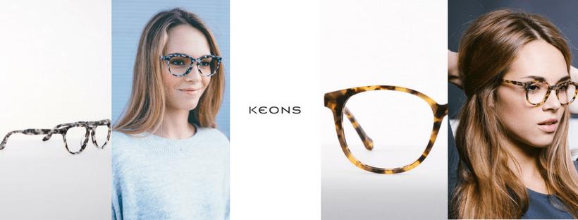 Gafas graduadas KEON: Monturas de moda
