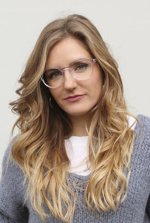Fabian gafa graduada transparente chica