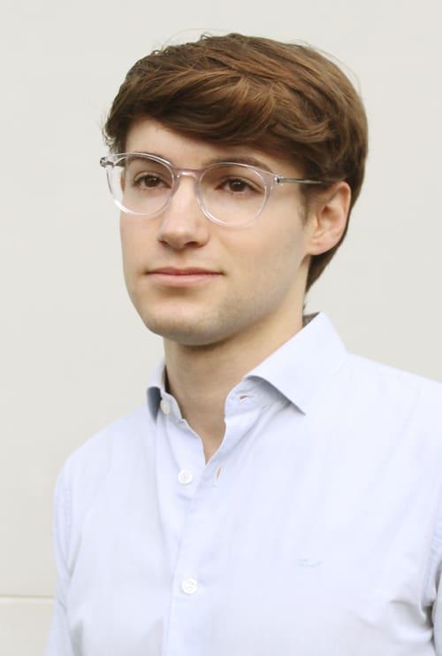 Fabian gafa graduada transparente chico
