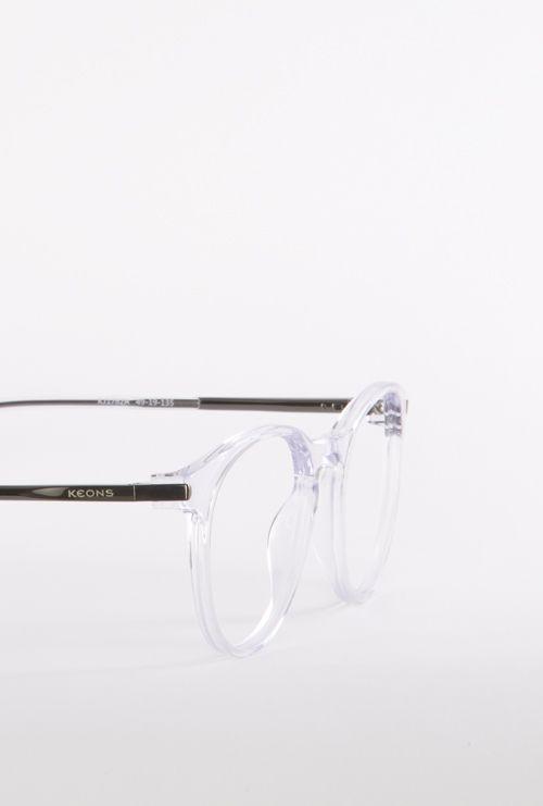 Fabian gafa graduada transparente lateral medio