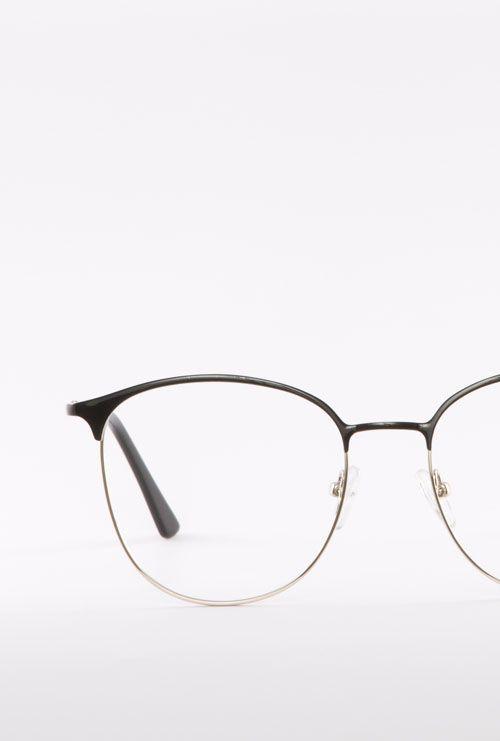 dalas gafa graduada negro dorado frontal