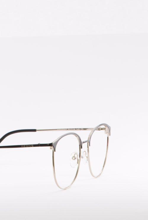 dalas gafa graduada negro dorado lateral medio