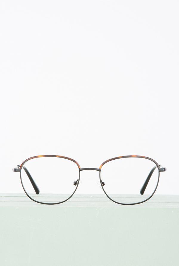 Enzo gafa progresiva fotocromática negro habana