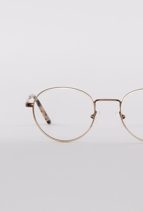 denis gafa graduada dorado cobre frontal