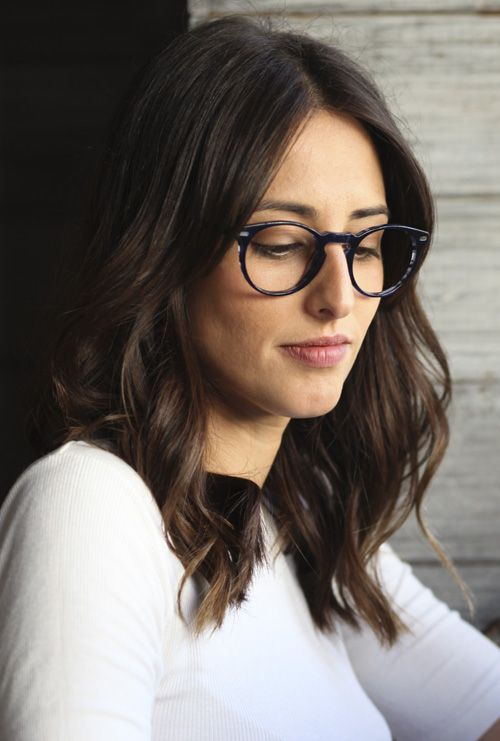 Kaney gafa graduada azul jaspeado chica