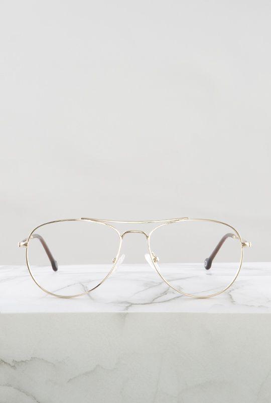 Kiel gafa filtro azul dorado principal