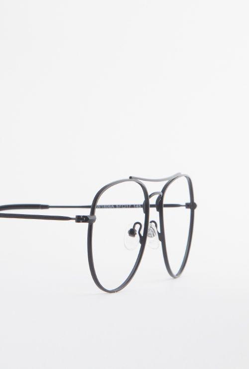 Kiel gafa graduada negro lateral medio