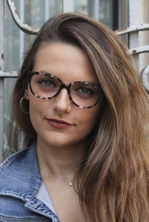 Liren gafa graduada tortuga chica