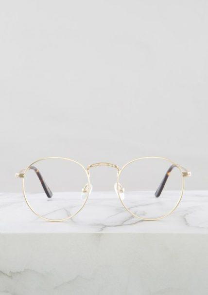 Otto gafa graduada dorado principal