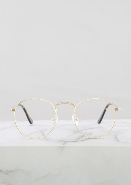 Otto gafa progresiva fotocromática dorado