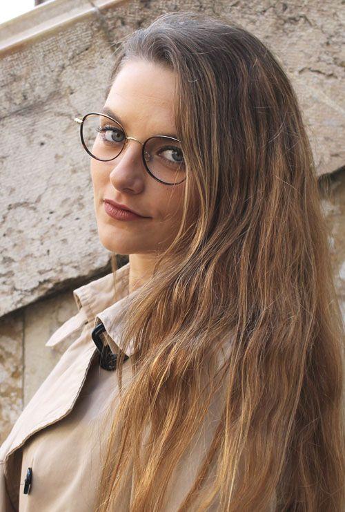 Tiber gafa graduada habana dorado chica