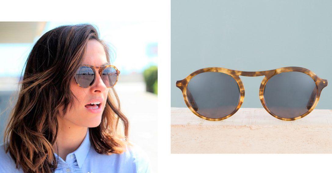 1cd662322f ... madera y sus lentes de color gris degradado le aportarán a tu look un  estilo sofisticado. Tanto para él, como para ella, esta montura está  disponible en ...