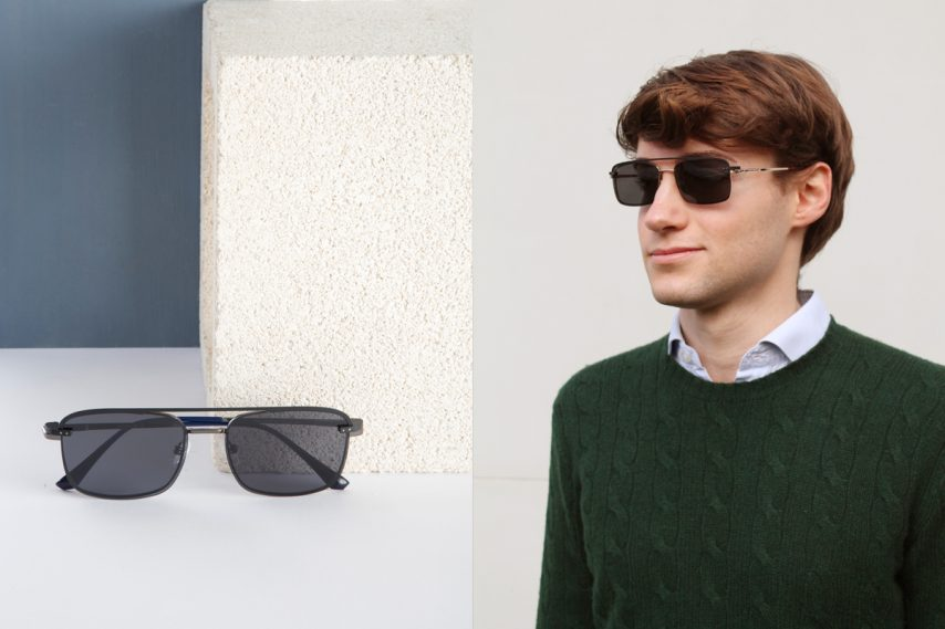 gafas de moda clip on