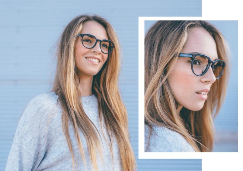 1aa3fea7e4 Gafas de moda: Cómo combinarlas con el color de piel