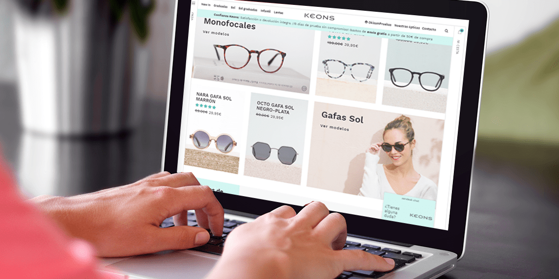 ab4e5f1ff7 Comprar gafas online: Seguridad, calidad y cómodidad con KEONS