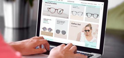 cómo comprar gafas online