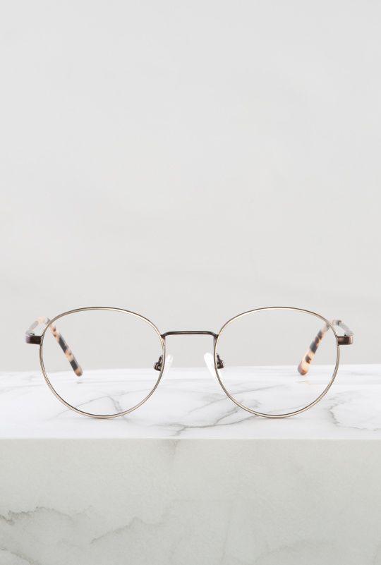 Denis gafa graduada dorado cobre principal