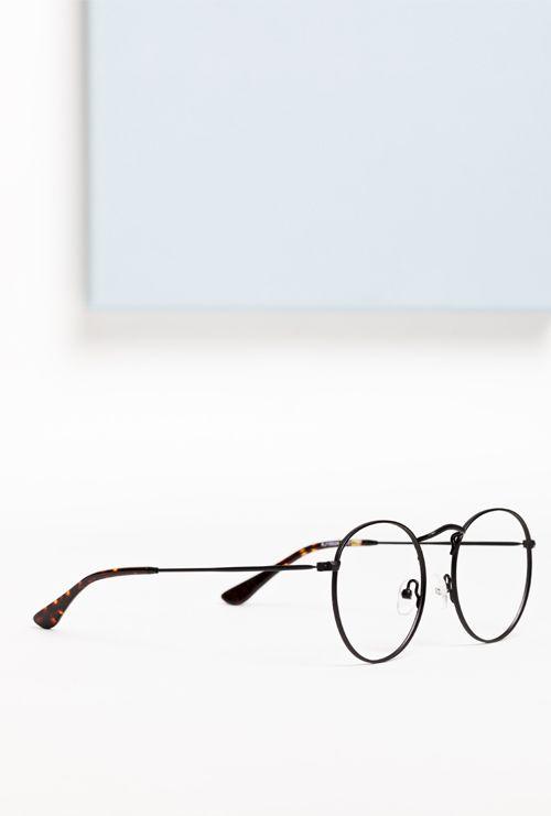 Otto gafa graduada negro lateral entero