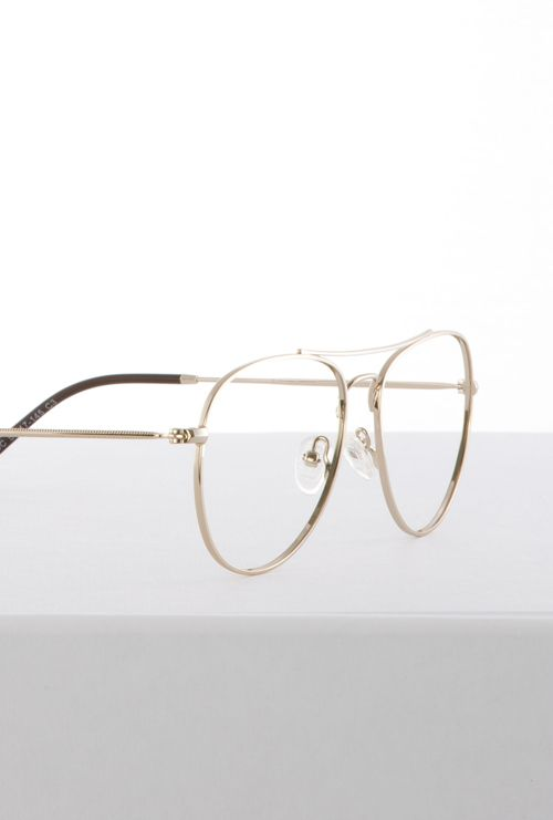 Kiel gafa graduada dorado lateral medio