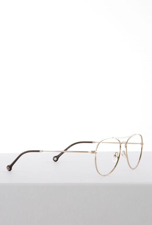 Kiel gafa graduada dorado lateral entero