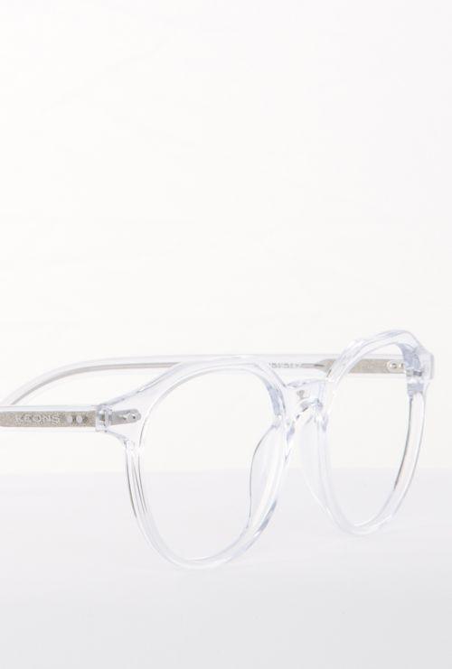 milos gafa graduada transparente lateral medio