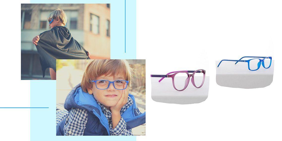 1bf23dcf0a Gafas infantiles: Cómo enseñar a tu hijo a llevar gafas